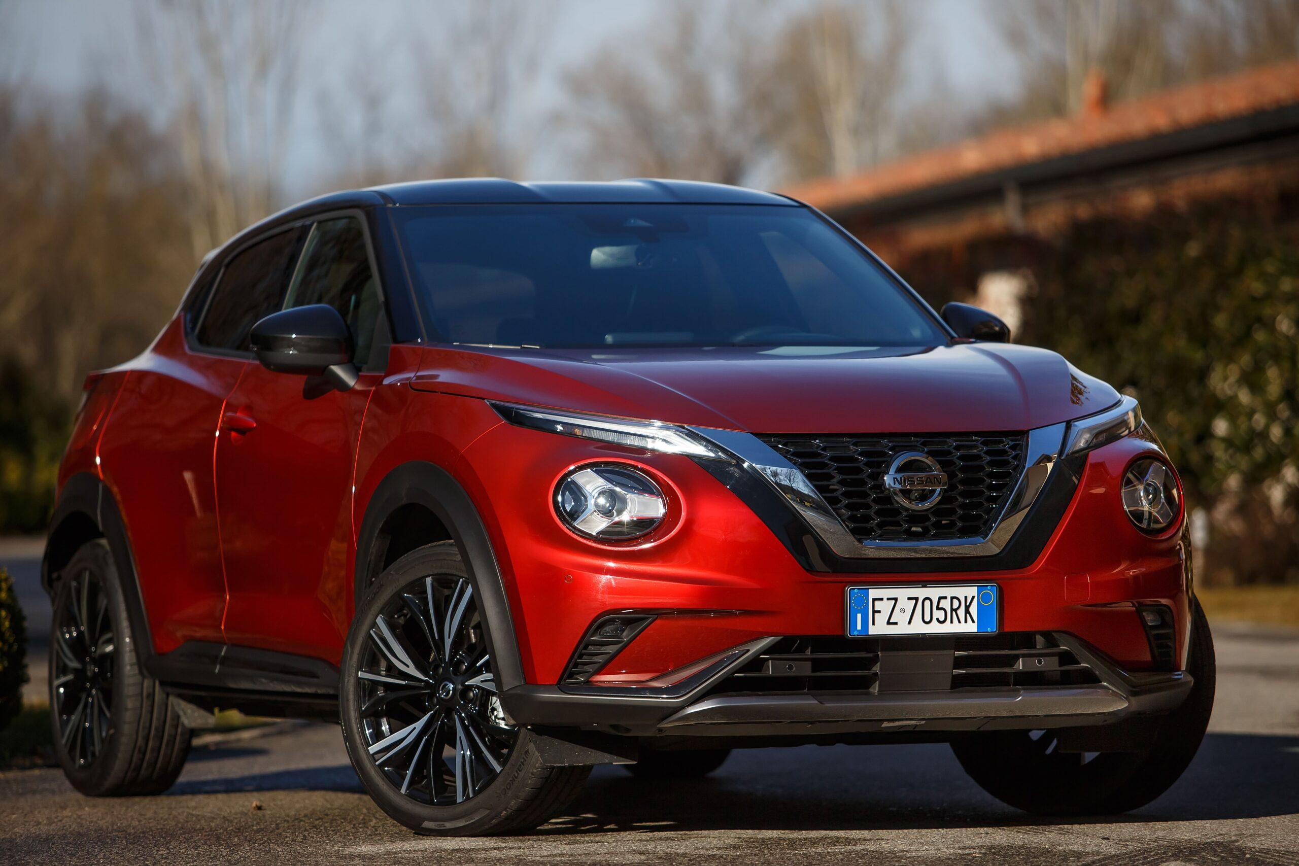 Nissan Juke Frontale