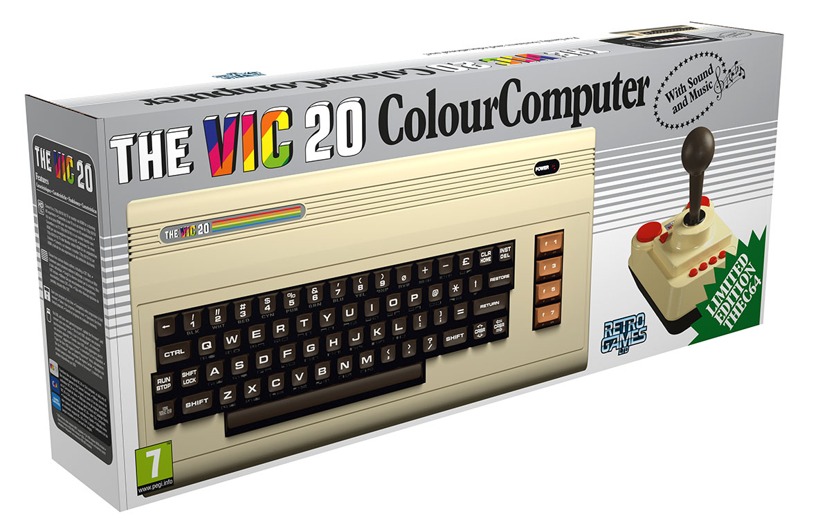 Nuovo VIC 20 3D Box
