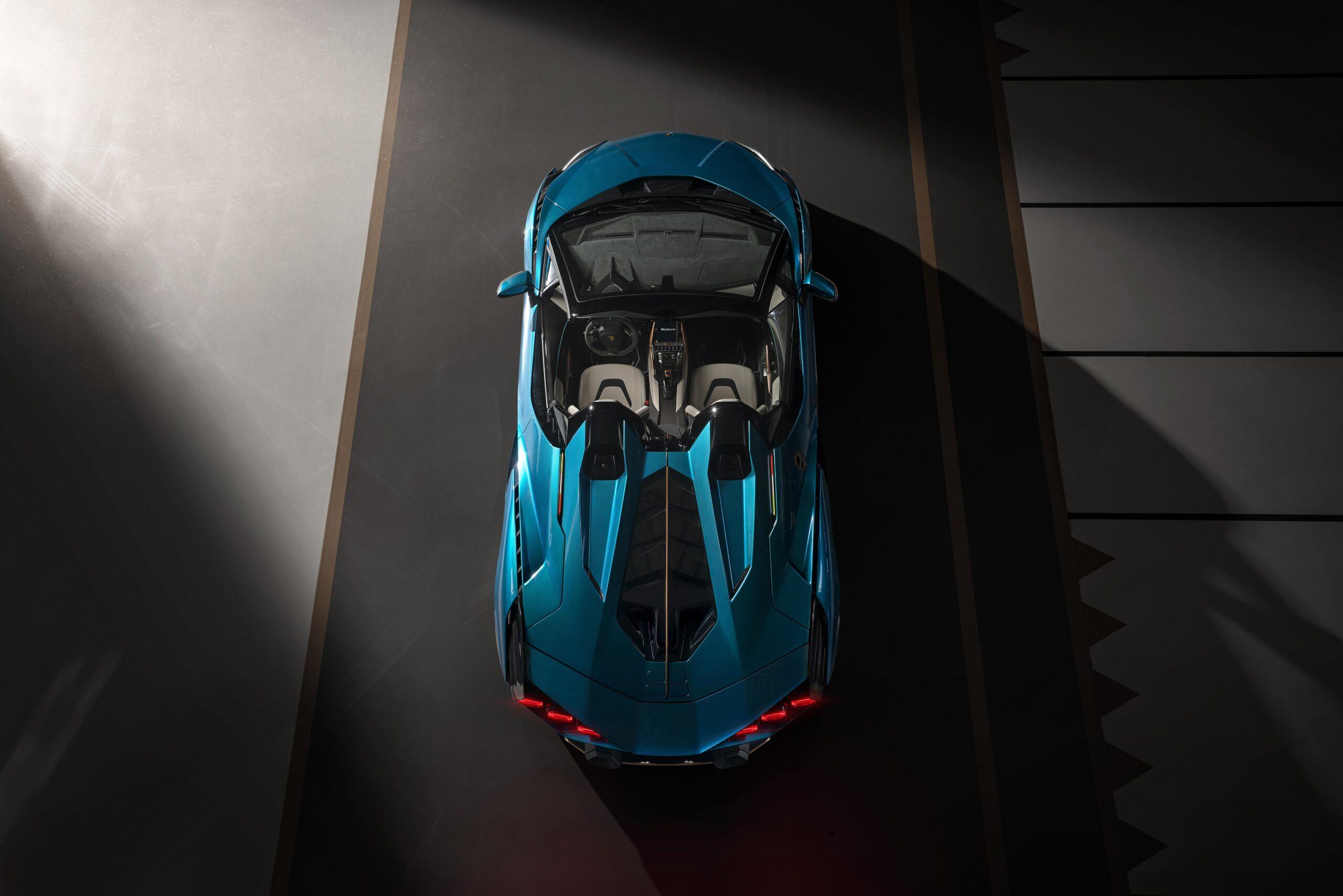 Lamborghini Siàn Roadster Design