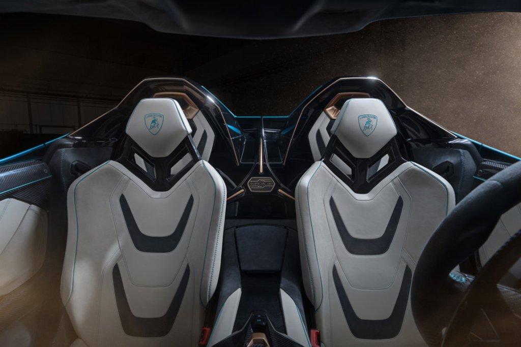 Lamborghini Siàn Roadster Interni