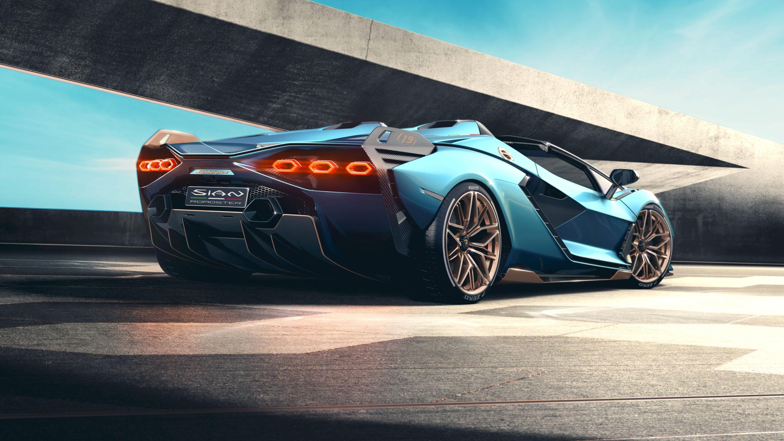 Lamborghini Siàn Roadster Rear