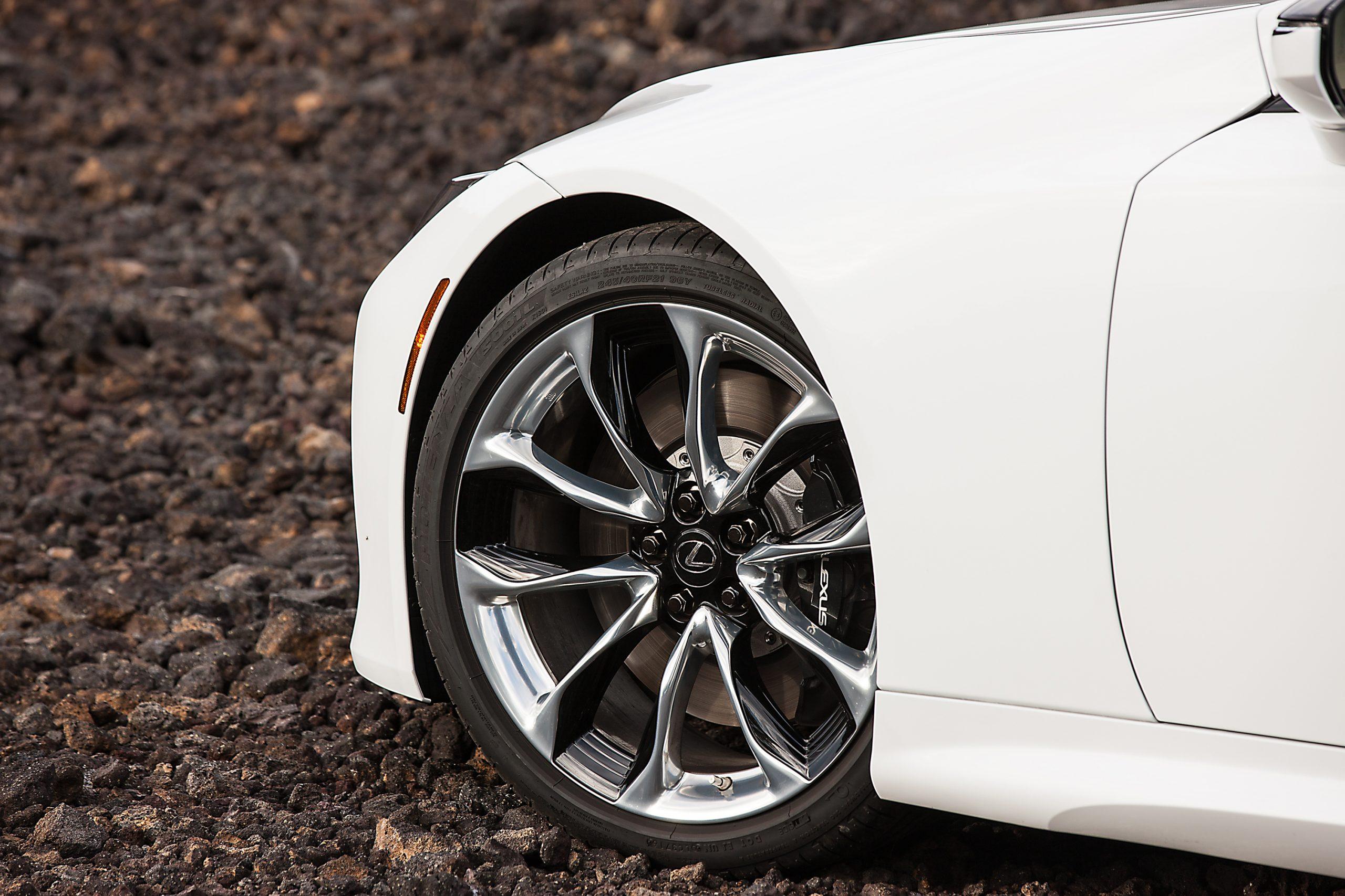 Lexus LC Dettaglio Cerchi
