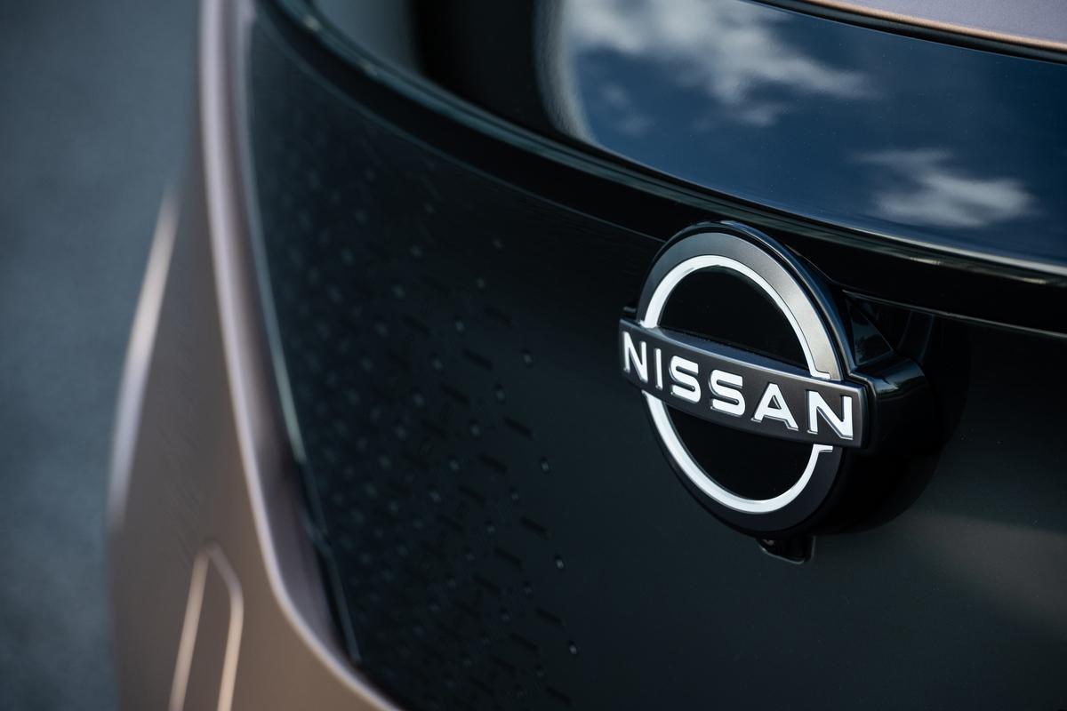Nissan Ariya badge