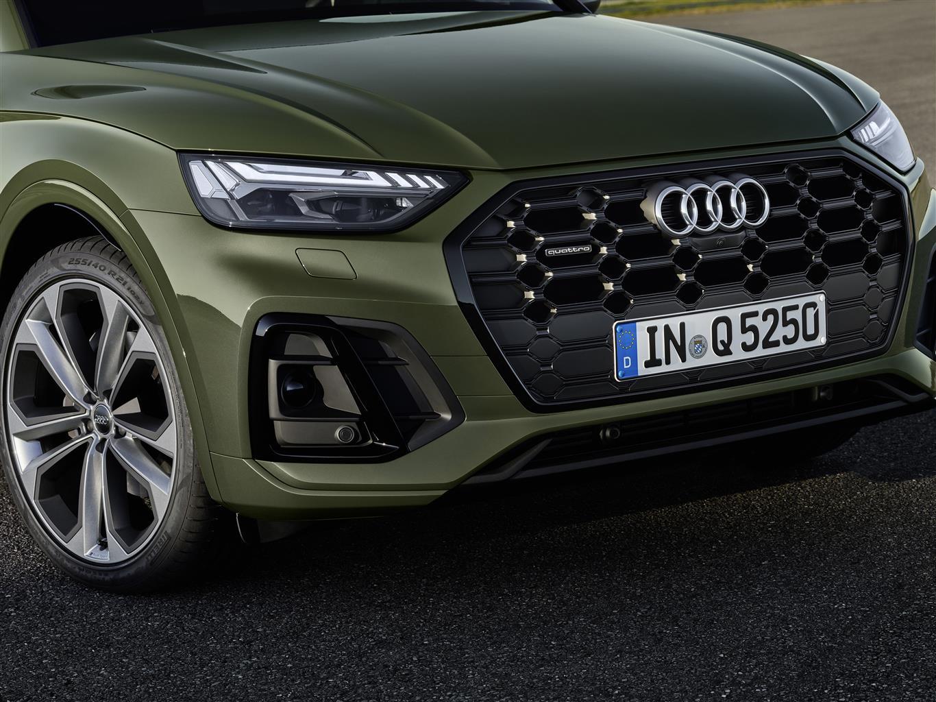 Nuova Audi Q5 frontale