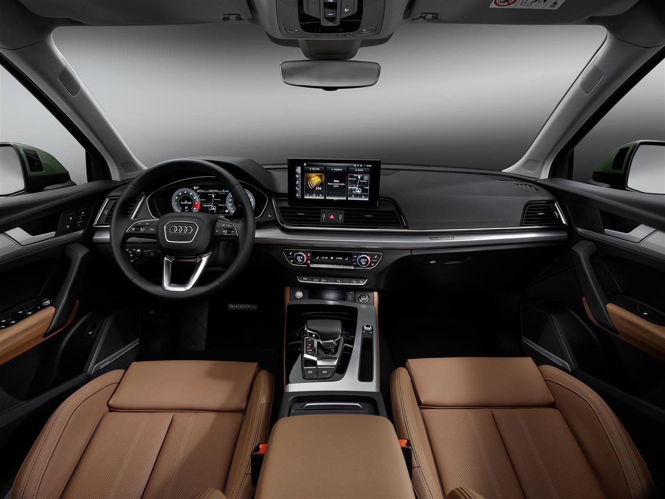 Nuova Audi Q5 interni