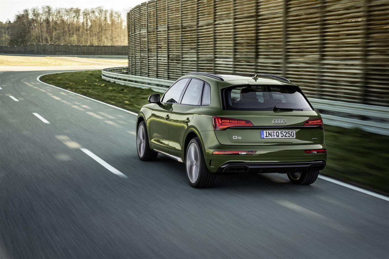 Nuova Audi Q5 posteriore