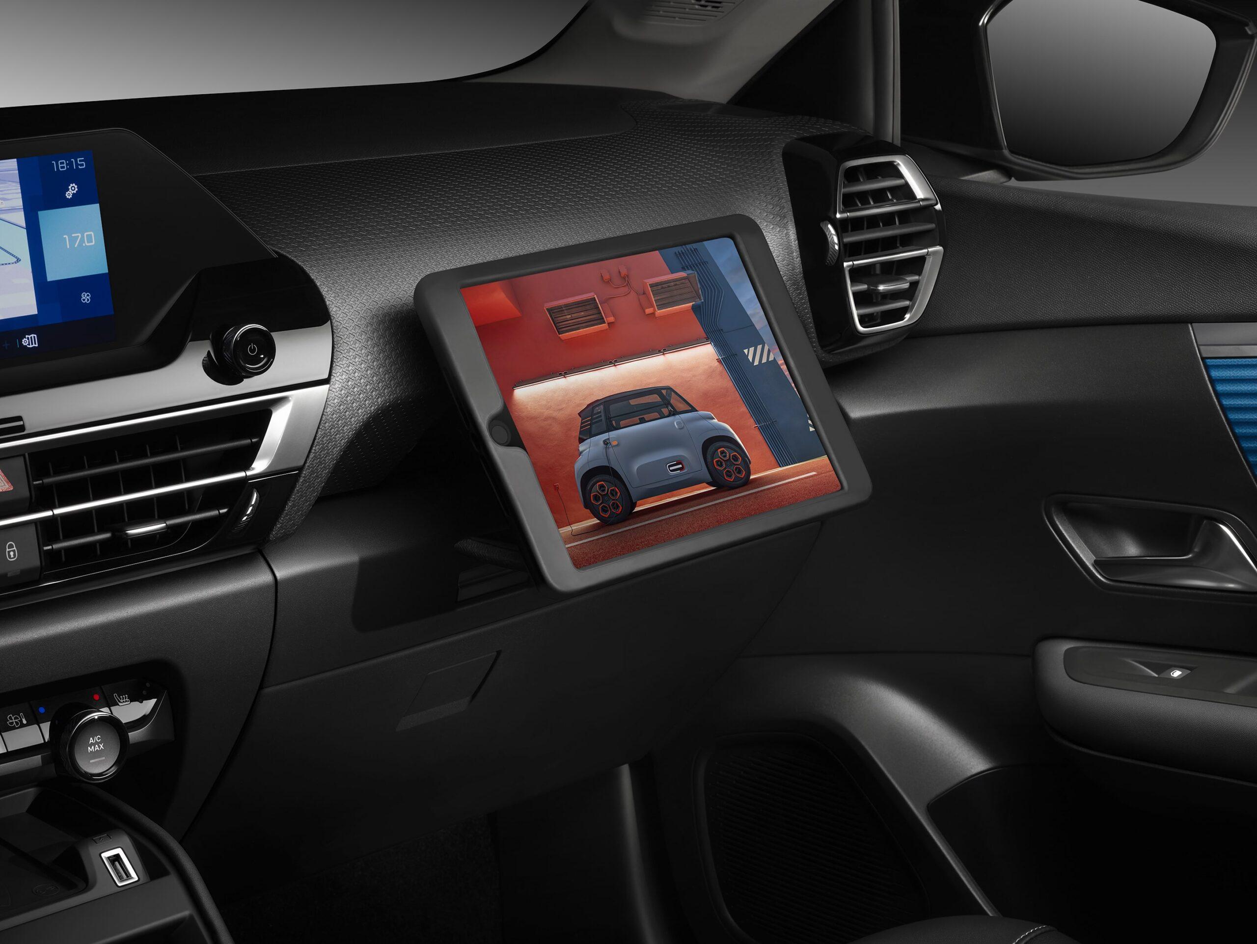 Nuova Citroën C4 Touch Pad
