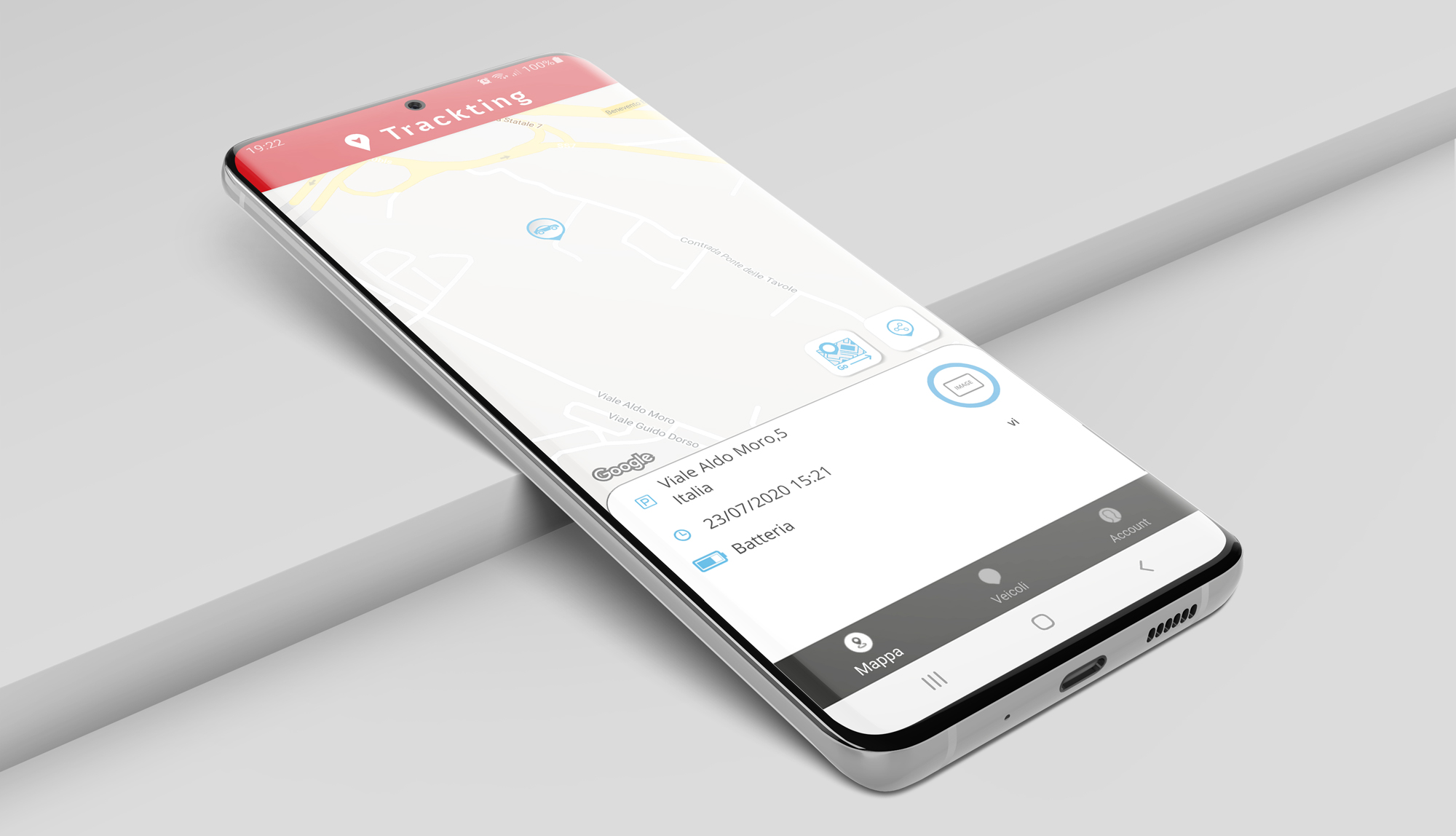 Smart Alarm by Trackting cellulare app
