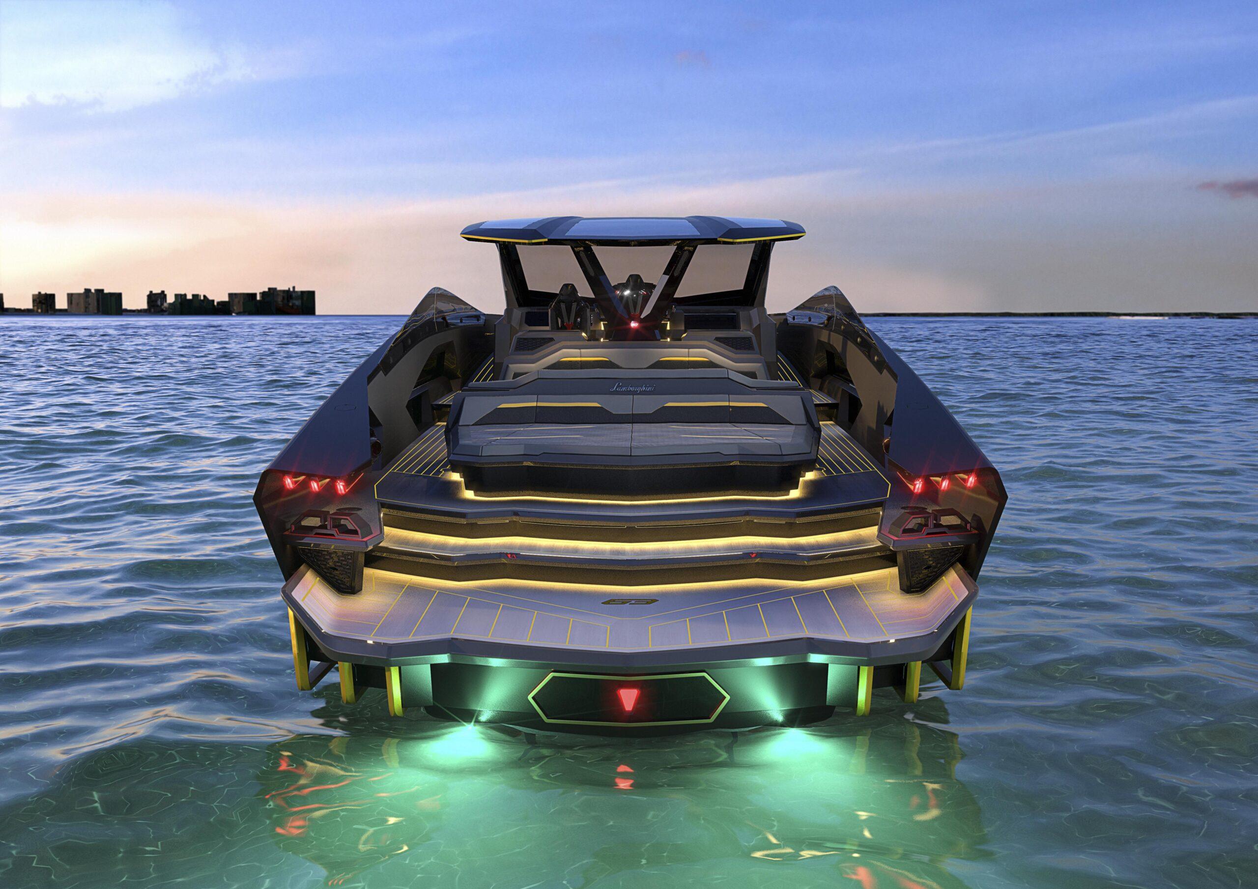 Tecnomar for Lamborghini 63 posteriore