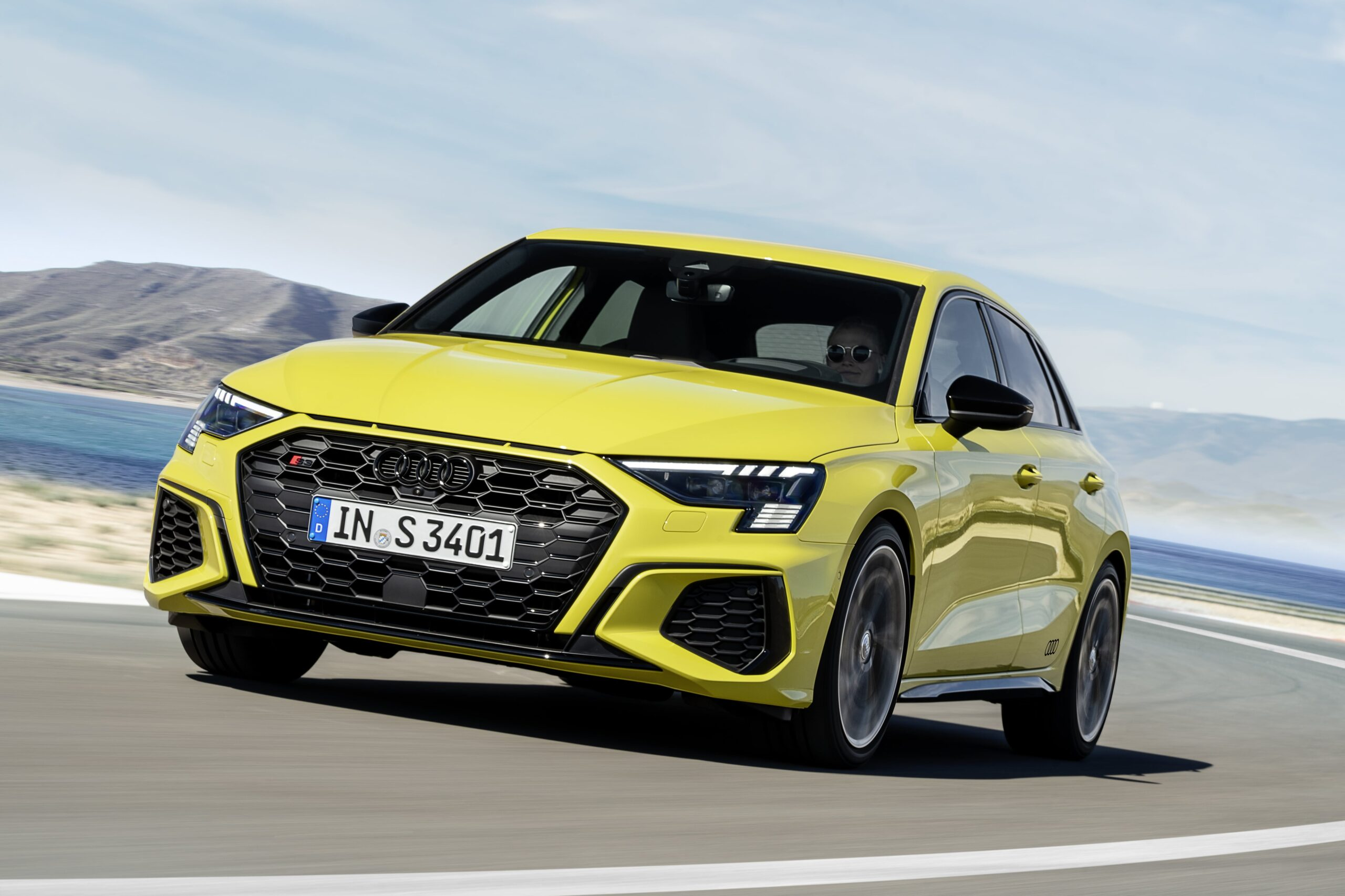 Audi S3 Frontale