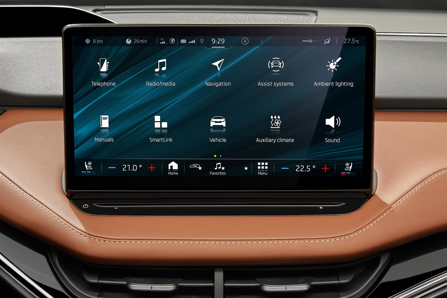 ENYAQ iV Touch screen