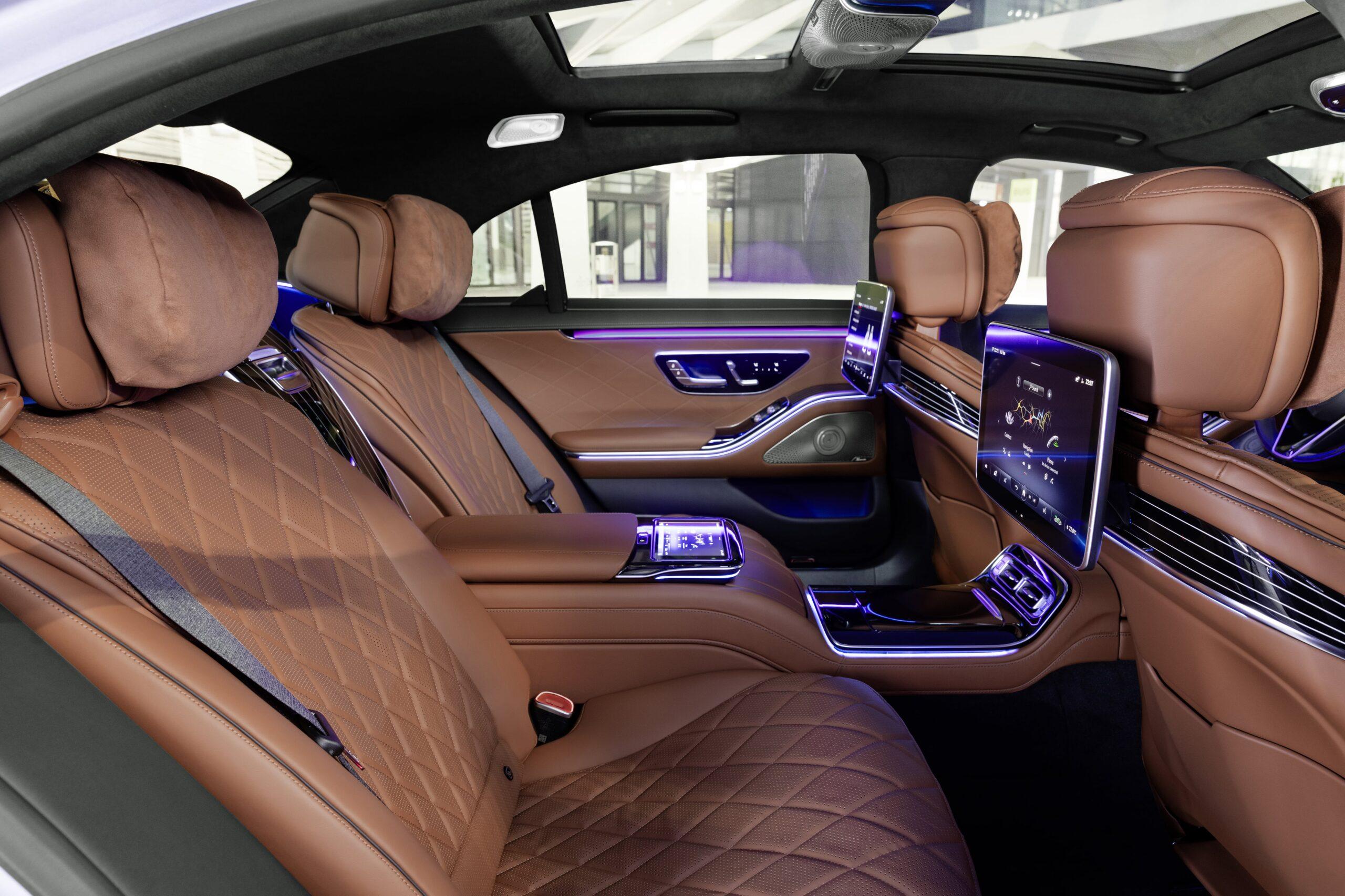Mercedes Classe S Interni 2