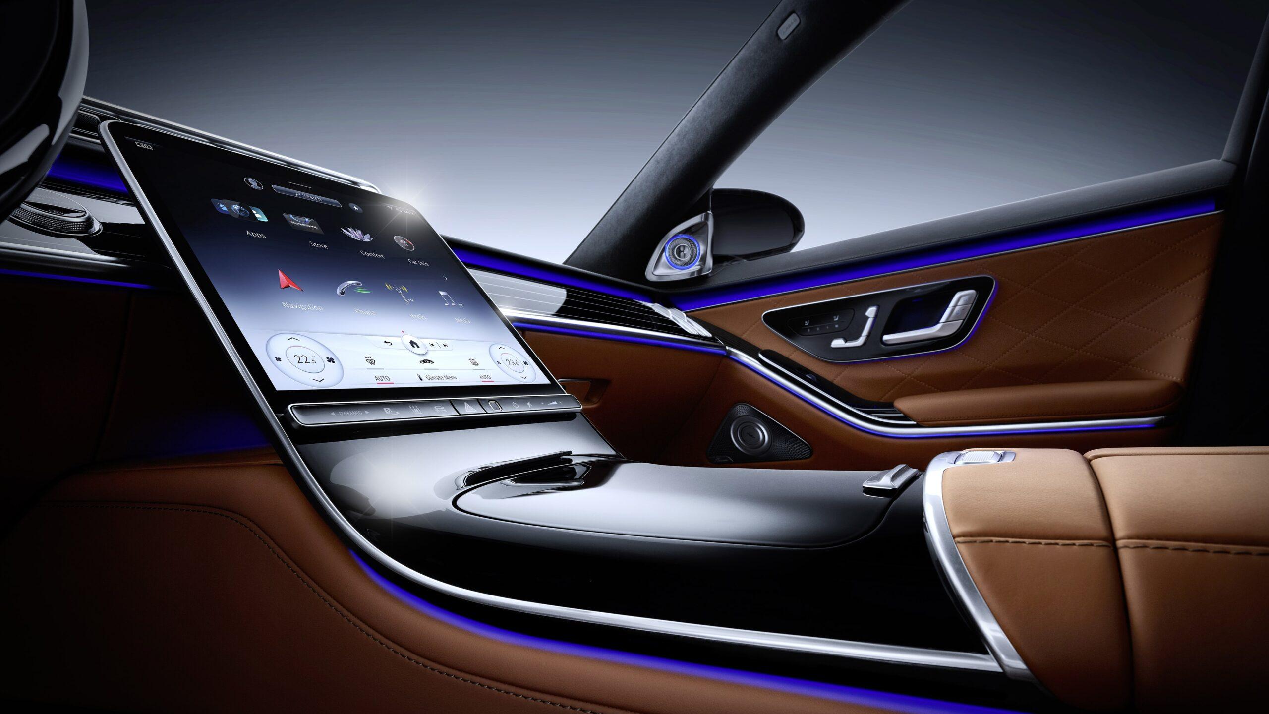Mercedes Classe S Interni 3