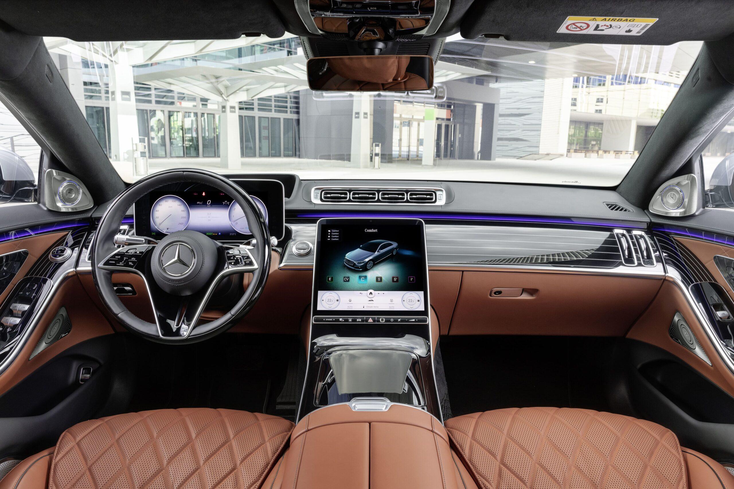 Mercedes Classe S Interni