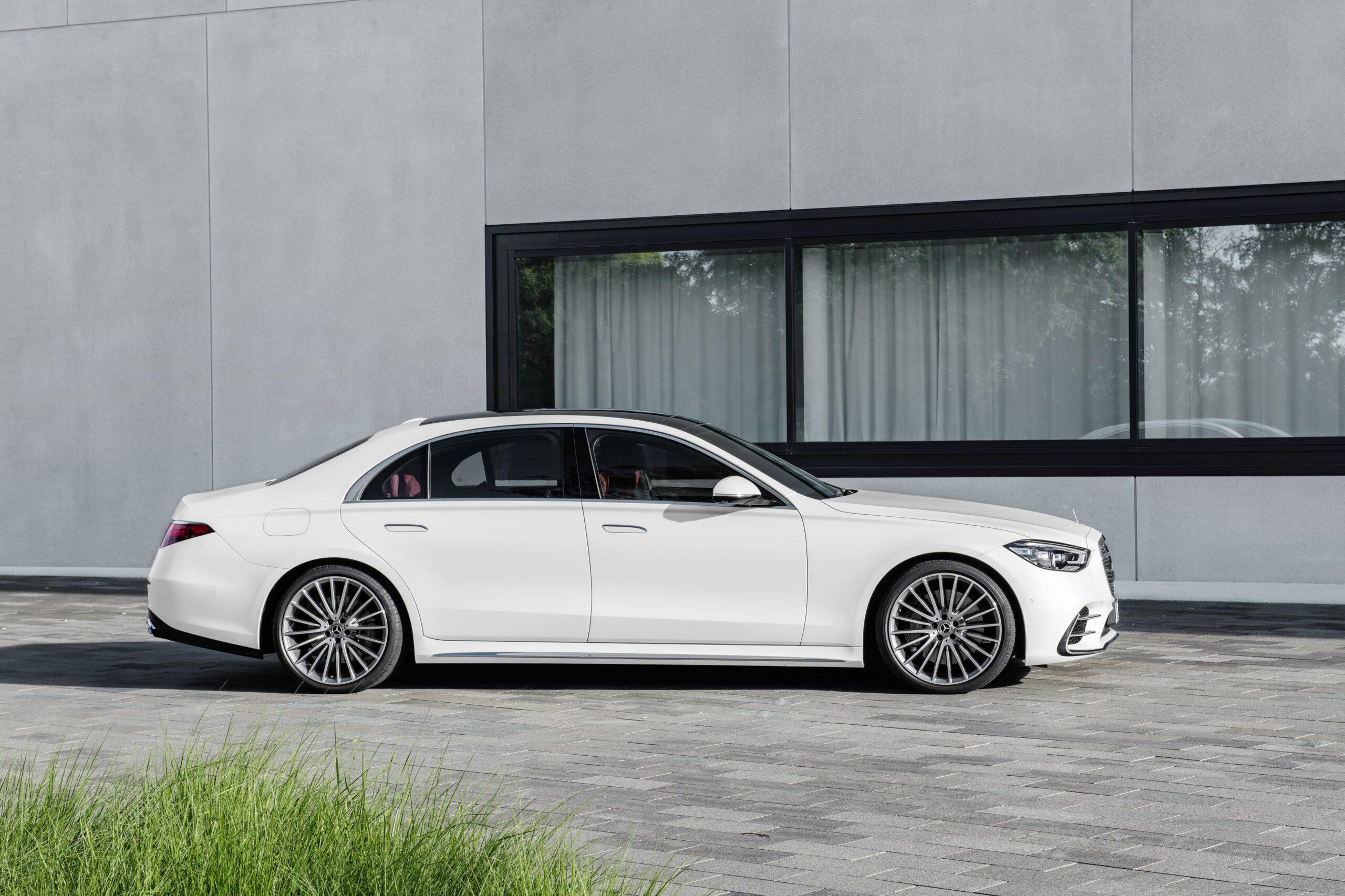 Mercedes Classe S Laterale