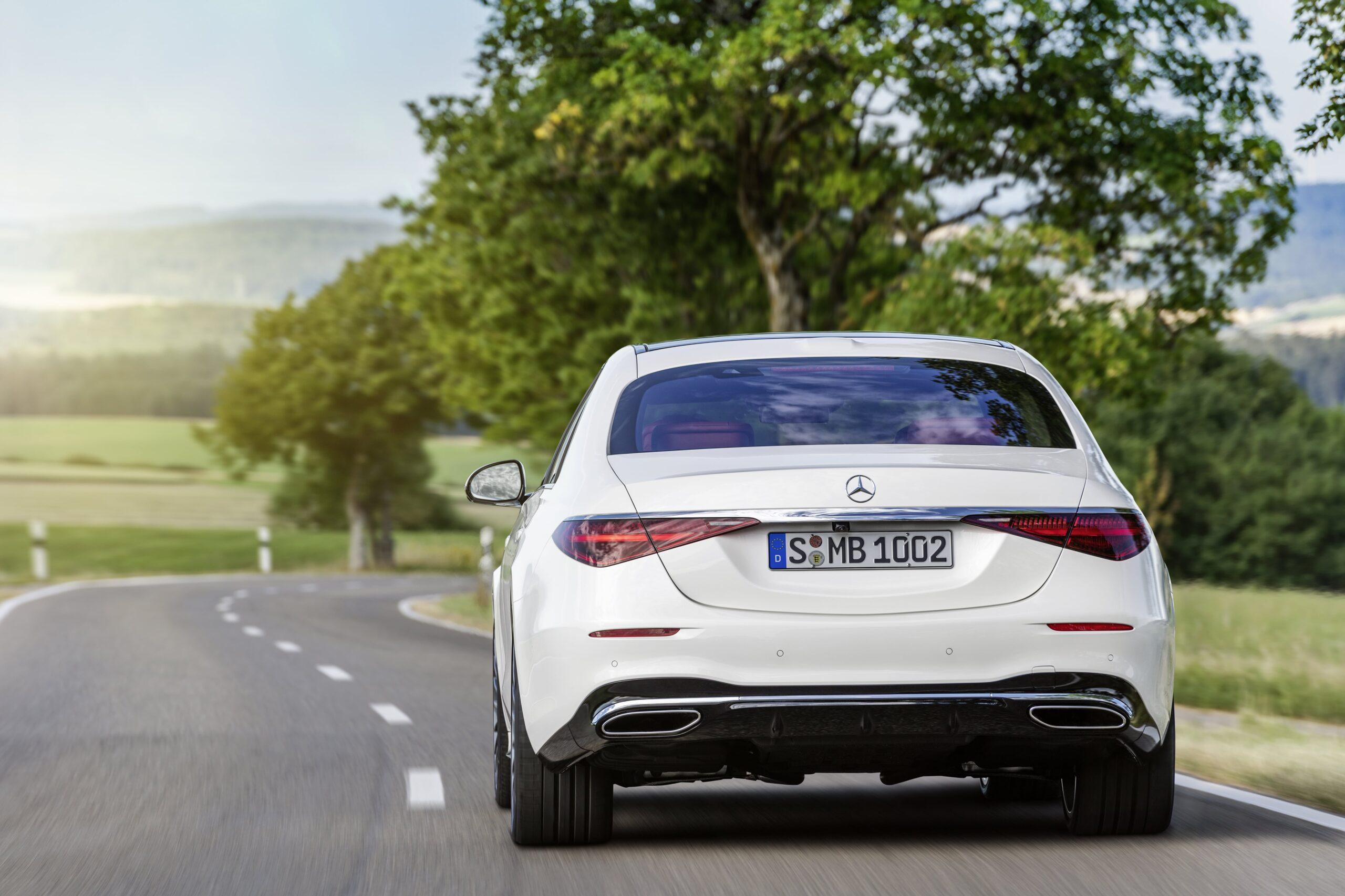 Mercedes Classe S Posteriore