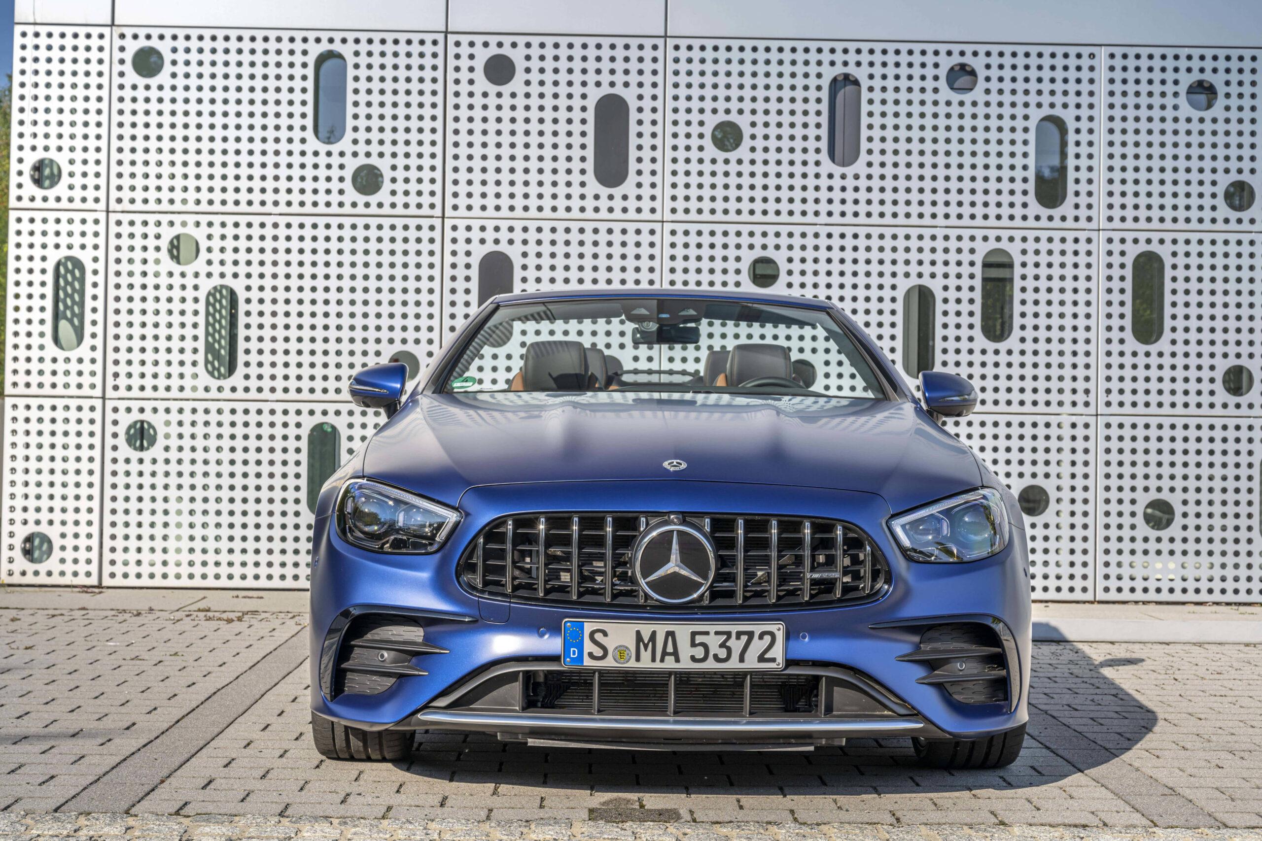 Mercedes e53 AMG Frontale