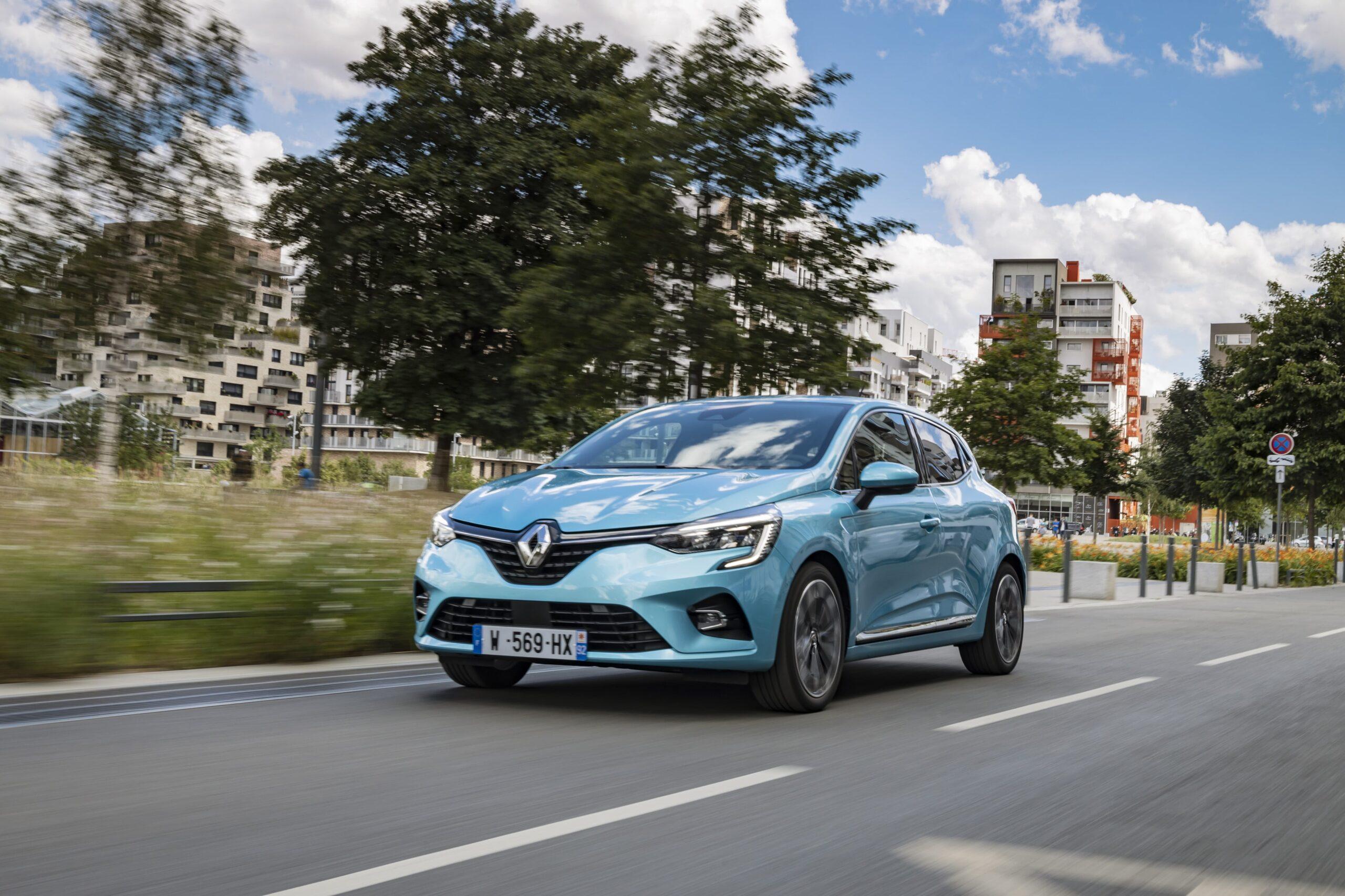 Nuova Clio E-tech Frontale