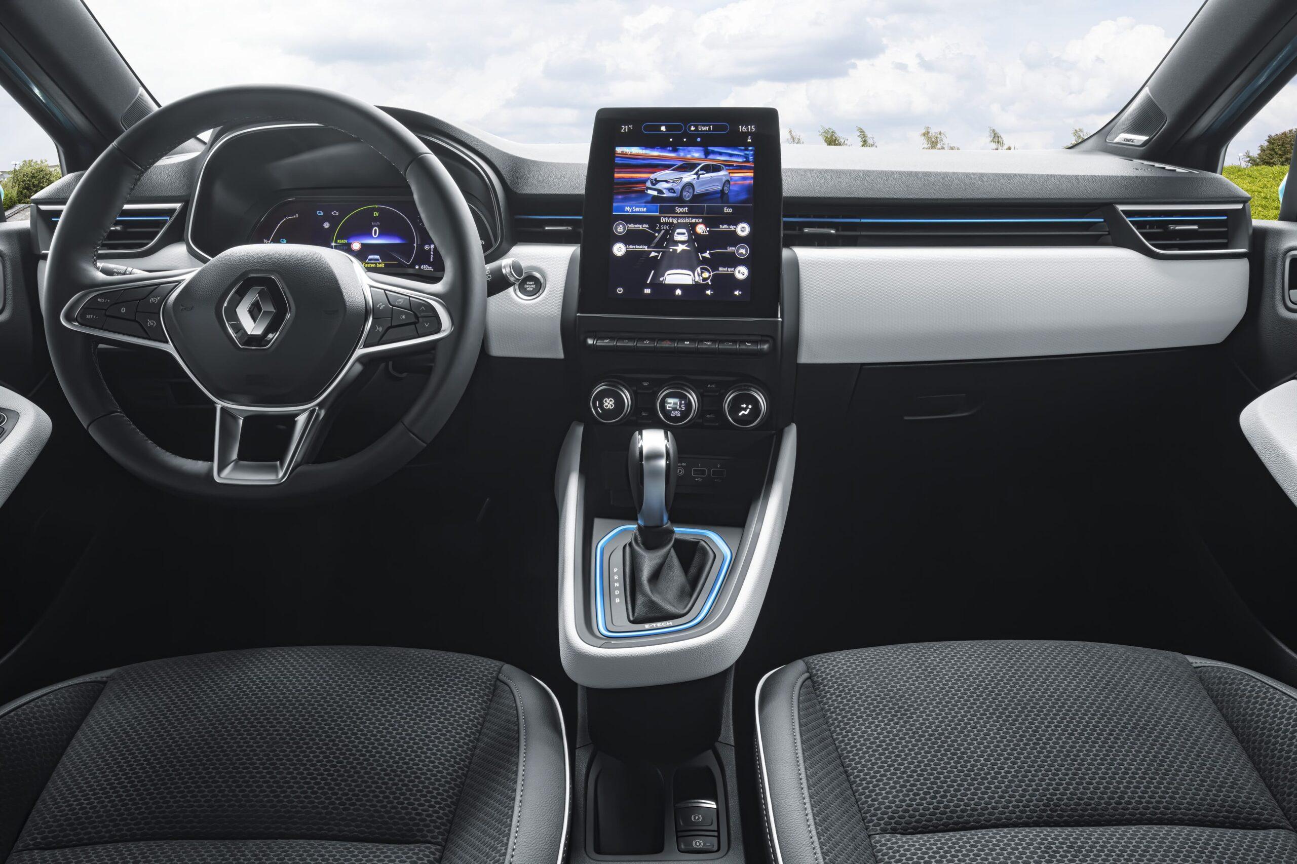 Nuova Clio E-tech Interni