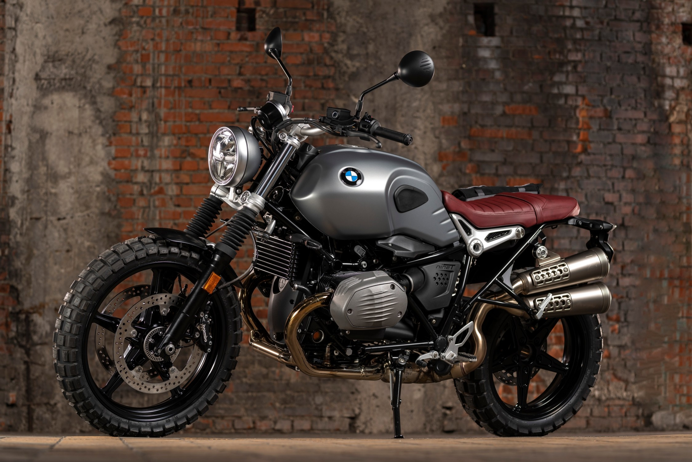 The BMW R nineT Scrambler