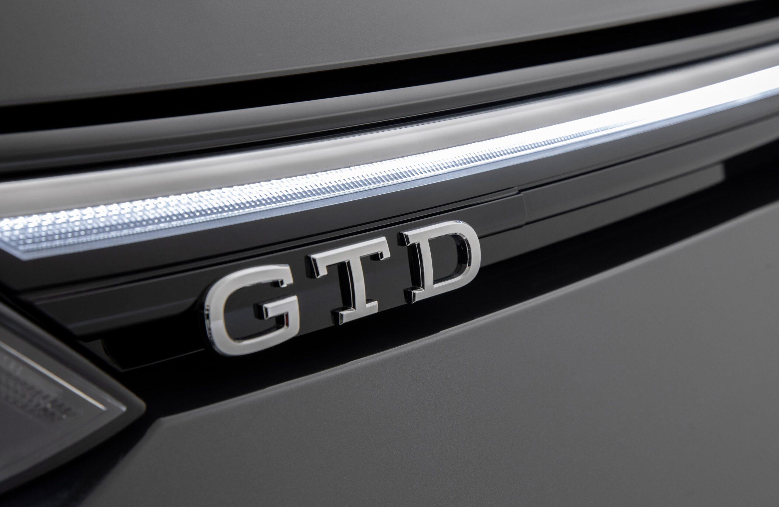 Volkswagen Golf 8 GTD Badge