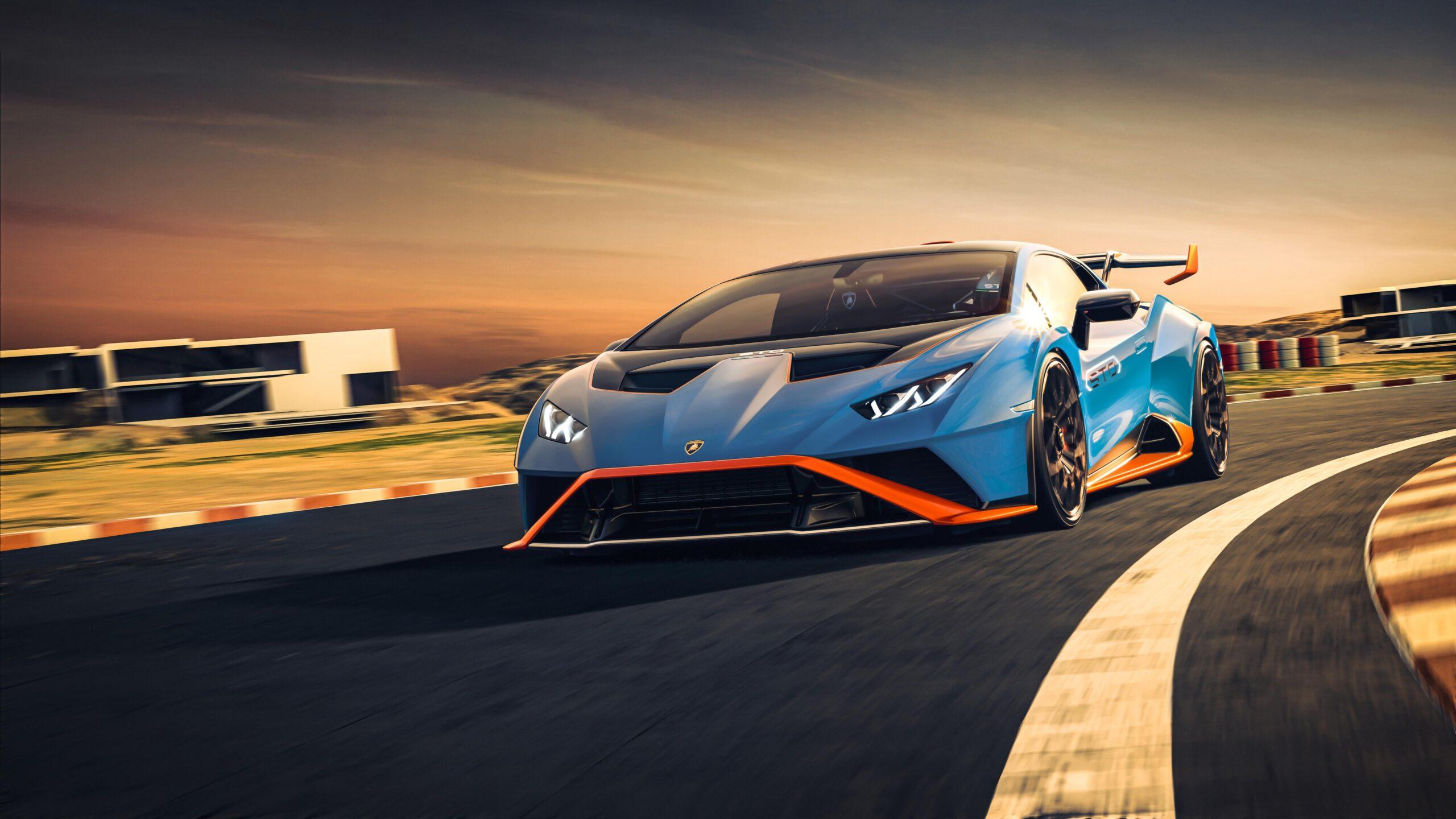 Lamborghini Huracan STO Frontale