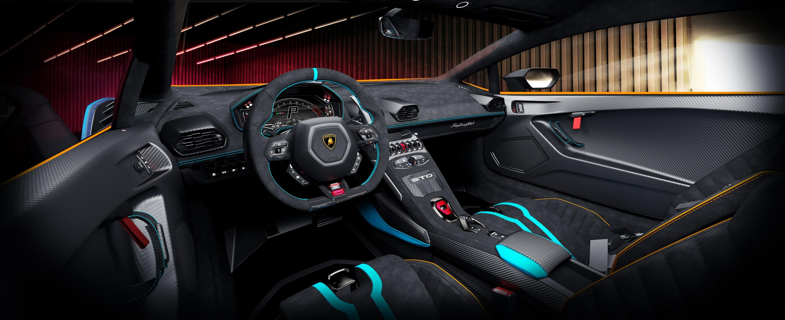 Lamborghini Huracan STO Interni 1