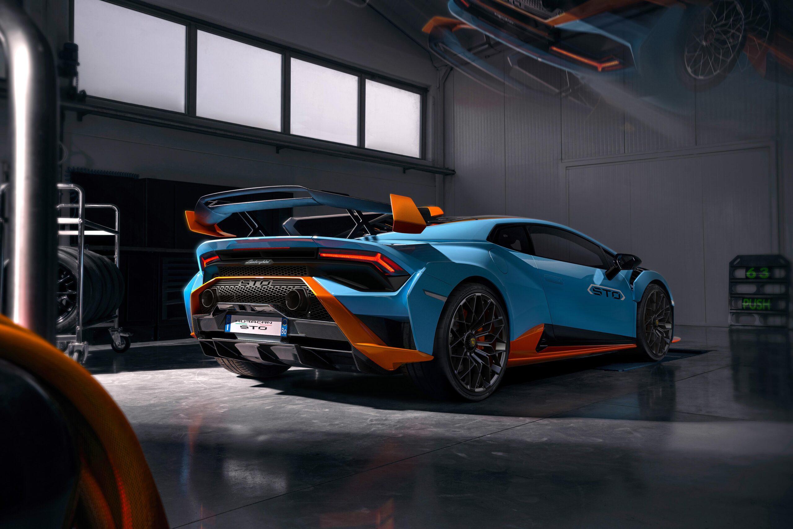 Lamborghini Huracan STO Retro