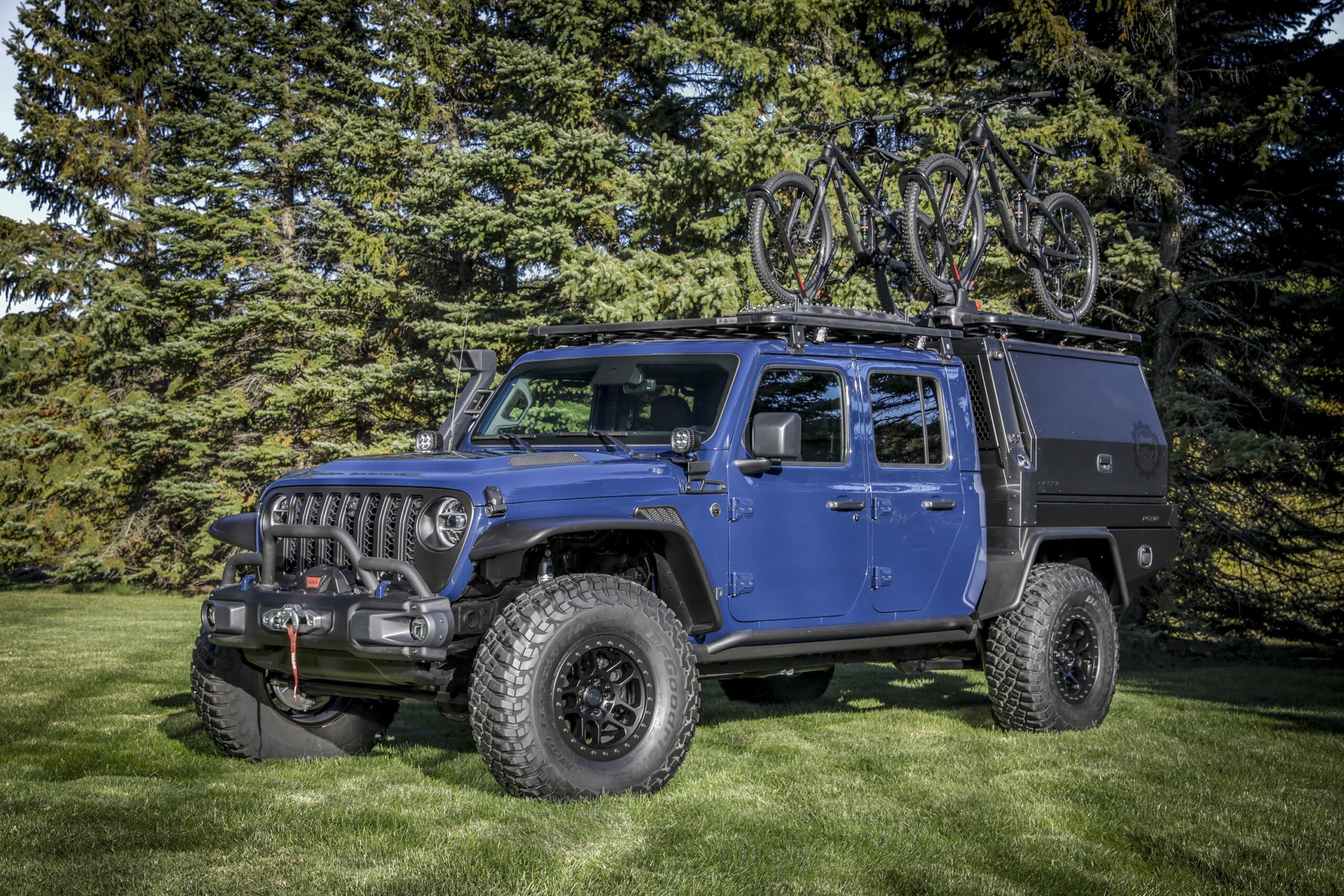 Jeep® Gladiator Top Dog concept