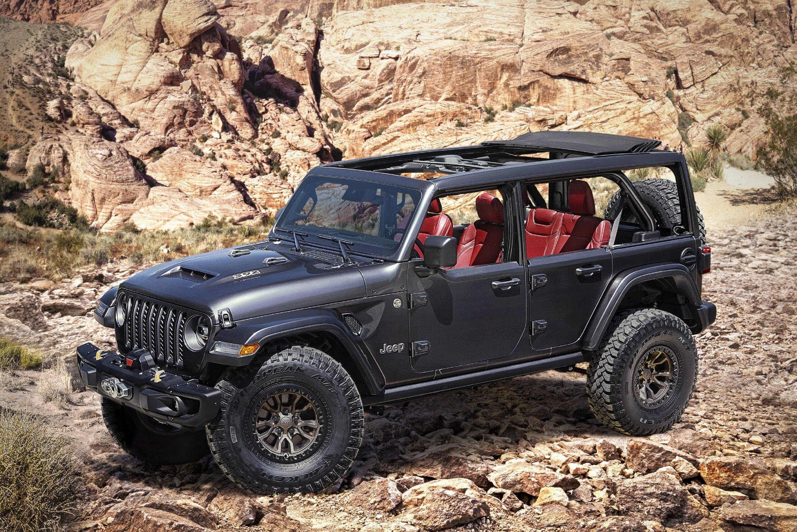 Jeep®Wrangler Rubicon 392 Concept